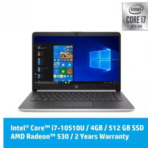 HP 14s-cf2001tx Laptop -Intel 10th Gen Processor