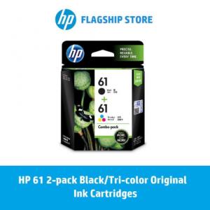 HP 61 2-pack Black/Tri-color Original Ink Cartridges / HP Deskjet: 1000 / 1010 / 2000 / 3000 / 1050 / 1510 / 2050 / 3050